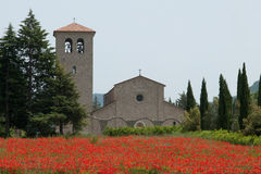 Abadía del monasterio antiguo de St vincent Fotografía de archivo libre de regalías