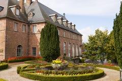 Abadía del Mont Sainte-Odile en Alsacia, Francia Imagenes de archivo