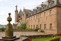 Abadía del Mont Sainte-Odile en Francia Fotos de archivo libres de regalías