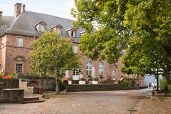 Abadía del Mont Sainte-Odile en Francia Foto de archivo libre de regalías
