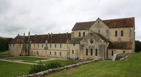 Abadía del noirlac Foto de archivo