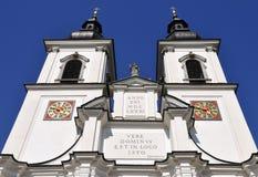 Abadía del nster del ¼ de KremsmÃ, Austria septentrional Foto de archivo libre de regalías