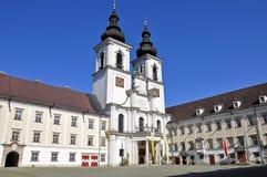 Abadía del nster del ¼ de KremsmÃ, Austria septentrional Fotografía de archivo libre de regalías