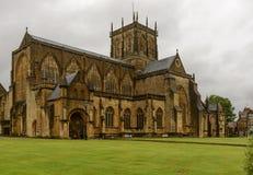 Abadía del oeste del sur, Sherborne Fotos de archivo libres de regalías