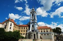 Abadía del rnstein del ¼ de DÃ en la región de Wachau en Austria Foto de archivo