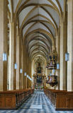 Abadía del ` s del St Lambrecht, Austria Imagen de archivo libre de regalías
