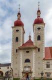 Abadía del ` s del St Lambrecht, Austria Imágenes de archivo libres de regalías