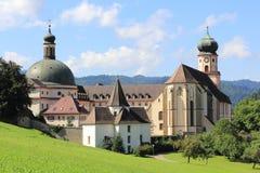 Abadía del ` s del St Trudpert Imagenes de archivo