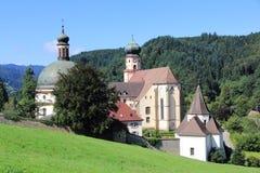 Abadía del ` s del St Trudpert Imagen de archivo