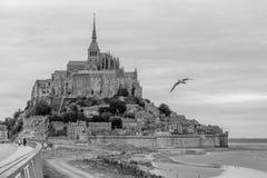 Abadía del Saint Michel Fotos de archivo libres de regalías