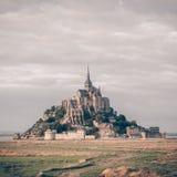 Abadía del Saint Michel de Mont Imagenes de archivo