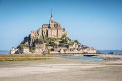 Abadía del Saint Michel de Mont Fotografía de archivo
