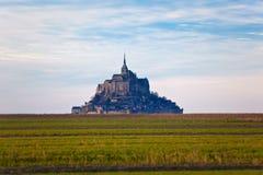 Abadía del Saint-Michel de Mont Imagenes de archivo