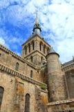 Abadía del Saint-Michel de Mont Fotos de archivo libres de regalías