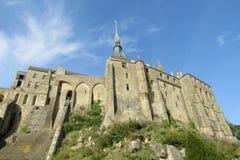 Abadía del Saint-Michel de Mont Fotos de archivo