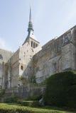Abadía del Saint Michel de Mont, Francia Fotografía de archivo libre de regalías