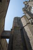 Abadía del Saint Michel de Mont, Francia Imagen de archivo libre de regalías