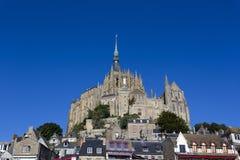 Abadía del Saint Michel de Mont francia Imágenes de archivo libres de regalías