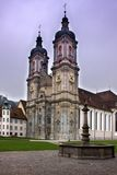 Abadía del santo Gallen Foto de archivo