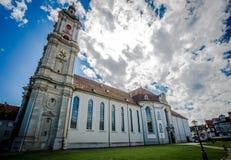 Abadía del santo Gallen Foto de archivo libre de regalías