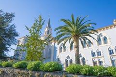 Abadía del santo Mary Viaceli en Cantabria Fotografía de archivo libre de regalías