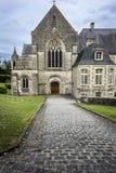 Abadía del Santo-Sauveur-le-Vicomte, Normandía, Francia Imagen de archivo