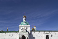 Abadía del sergei de Sam en la Federación Rusa Imagen de archivo libre de regalías
