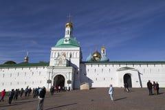 Abadía del sergei de Sam en la Federación Rusa Imágenes de archivo libres de regalías