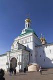 Abadía del sergei de Sam en la Federación Rusa Foto de archivo libre de regalías