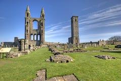 Abadía del St Andrews Fotos de archivo libres de regalías