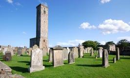 Abadía del St. Andrews en Escocia Imagen de archivo libre de regalías