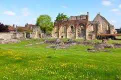 Abadía del St Augustines en Cantorbery Fotos de archivo