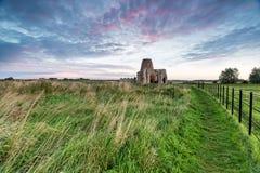 Abadía del St Benet en Norfolk Imágenes de archivo libres de regalías