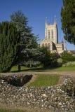 Abadía del St Edmunds del entierro y catedral del St Edmundsbury Foto de archivo
