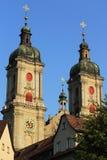 Abadía del St. Gallen Fotos de archivo libres de regalías