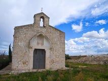 Abadía del St. Lorenzo. Turi. Apulia. Foto de archivo libre de regalías