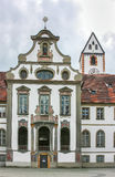 Abadía del St Mang, Fussen Imagen de archivo