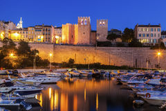 Abadía del vencedor del santo en Marsella Imágenes de archivo libres de regalías