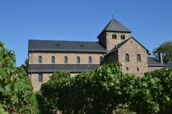 Abadía del viñedo Foto de archivo libre de regalías