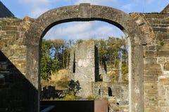 Abadía del Villers-La-Ville Foto de archivo