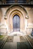 abadía del weinstmister en puerta de la iglesia de Londres y antigüedad viejas del mármol Imagenes de archivo