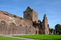 Abadía, Dumfries y Galloway del amor Foto de archivo