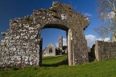 Abadía en Adare Foto de archivo libre de regalías