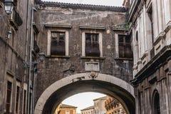 Abadía en Catania Foto de archivo