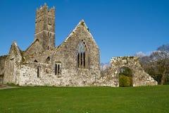 Abadía en el club de golf de Adare Fotografía de archivo