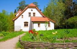 Abadía en el `de Polenovo del estado Imágenes de archivo libres de regalías
