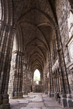 Abadía en el palacio de Holyrood Fotos de archivo