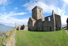 Abadía en Inchcolm Fotos de archivo libres de regalías