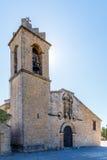 Abadía en la montaña, España, Aragón Imagen de archivo libre de regalías