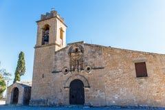 Abadía en la montaña, España, Aragón Fotos de archivo libres de regalías